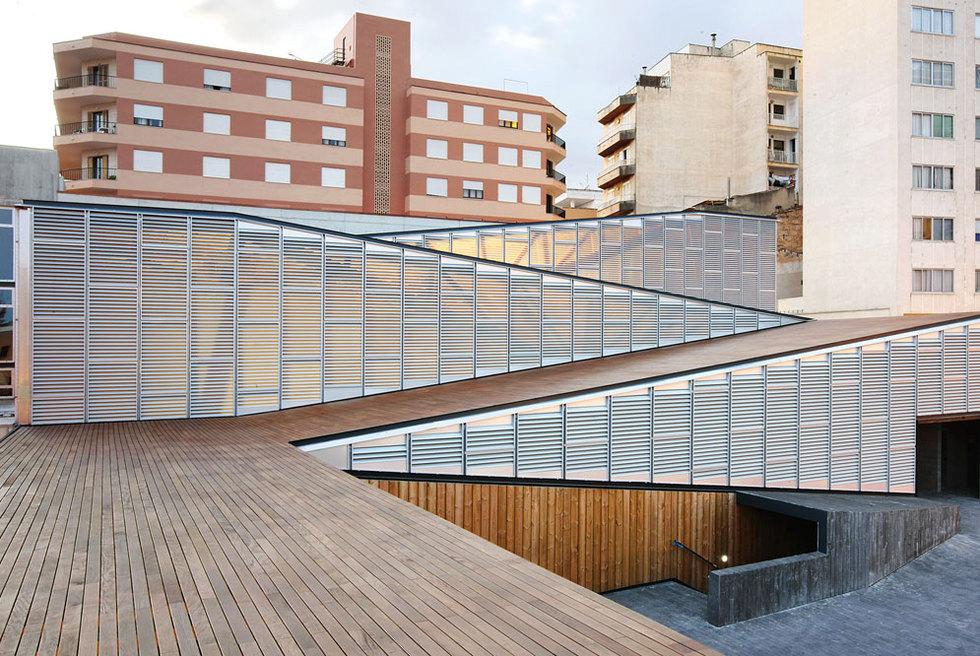 El nuevo mercado de Inca, en Mallorca, obra de Charmaine Lay y Carles Muro.-
