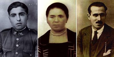 Antonio Aguilera, Isabel González y Julio Pardillo