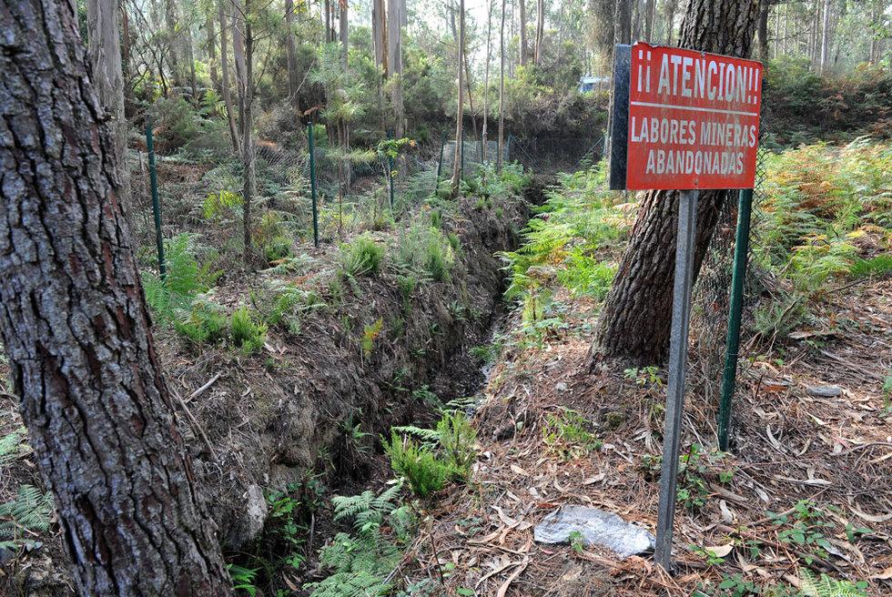 La mina de Corcoesto en Cabana de Bergantiños