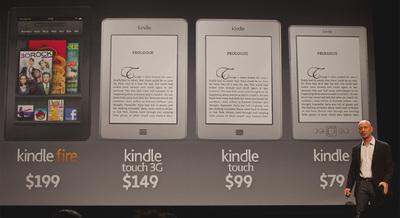 Kindle Fire, la tableta barata