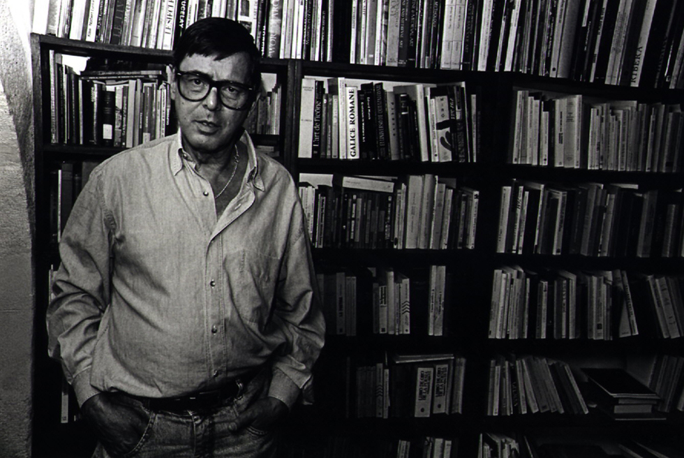 El escritor gallego José Ángel Valente.
