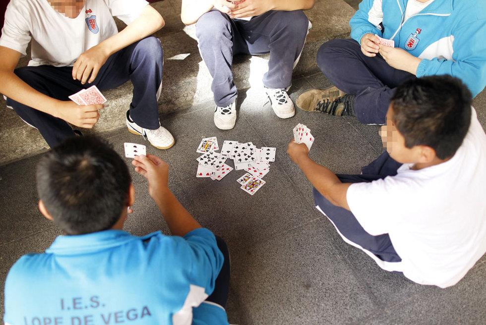 Alumnos del instituto público Lope de Vega