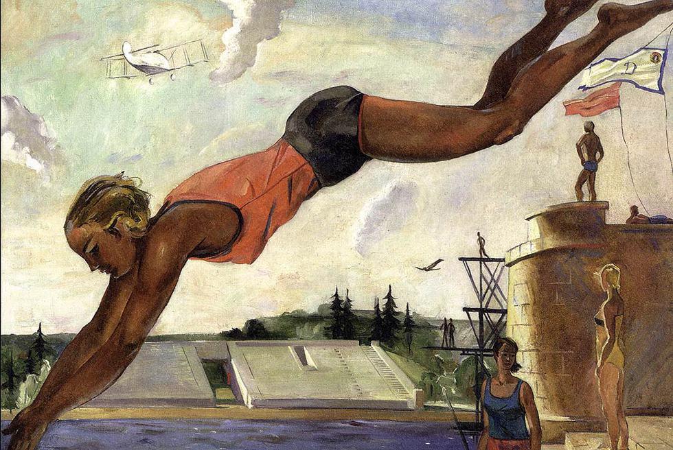 'Nadadora' (1934), de Aleksandr Deineka