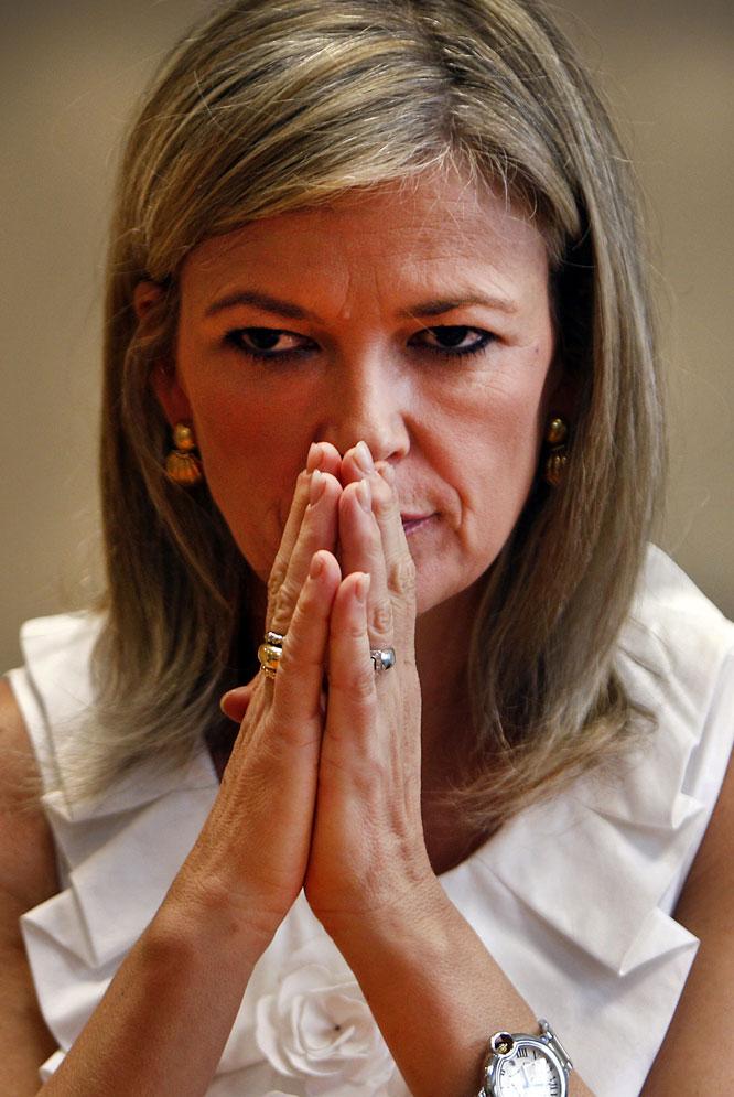 La portavoz del Poder Judicial, Gabriela Bravo
