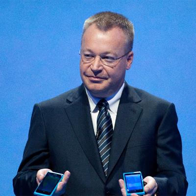 Stephen Elop, consejero delegado de Nokia