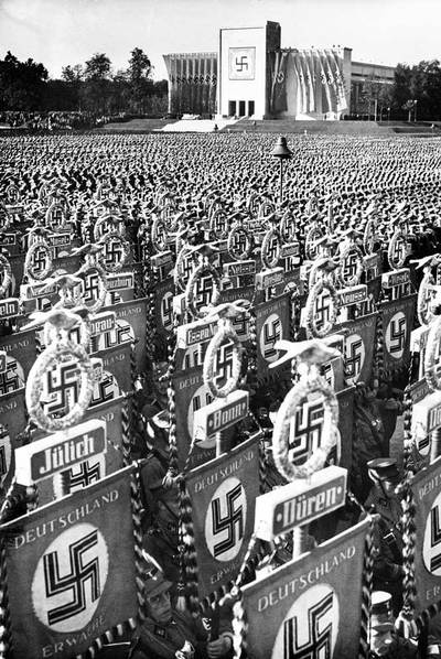 Nazi Convention in Nuremberg, 1936