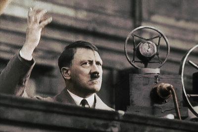 Hitler, en campaña