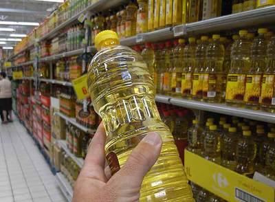Botella de aceite de girasol- LUIS SEVILLANO