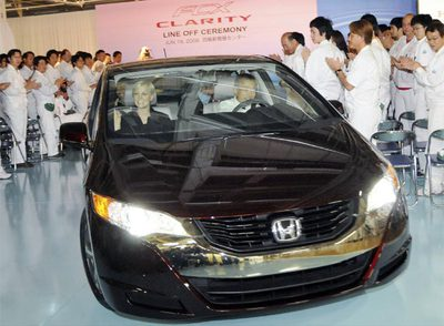 Honda comercializa los primeros coches de hidrógeno