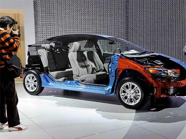 Salón del automóvil de Detroit - La apuesta de Honda por los híbridos