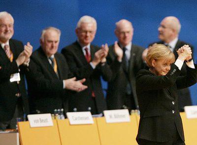 La canciller de Alemania, Angela Merkel, una de las mujeres más poderosas de Europa