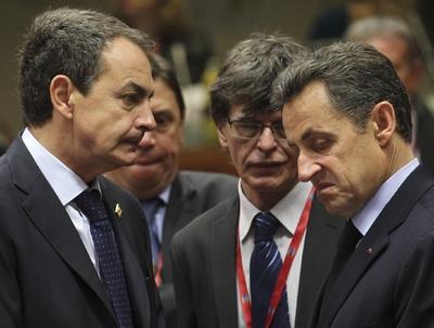 Zapatero y Sarkozy