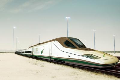 Prototipo del tren ofertado a las autoridades de Arabia Saudí