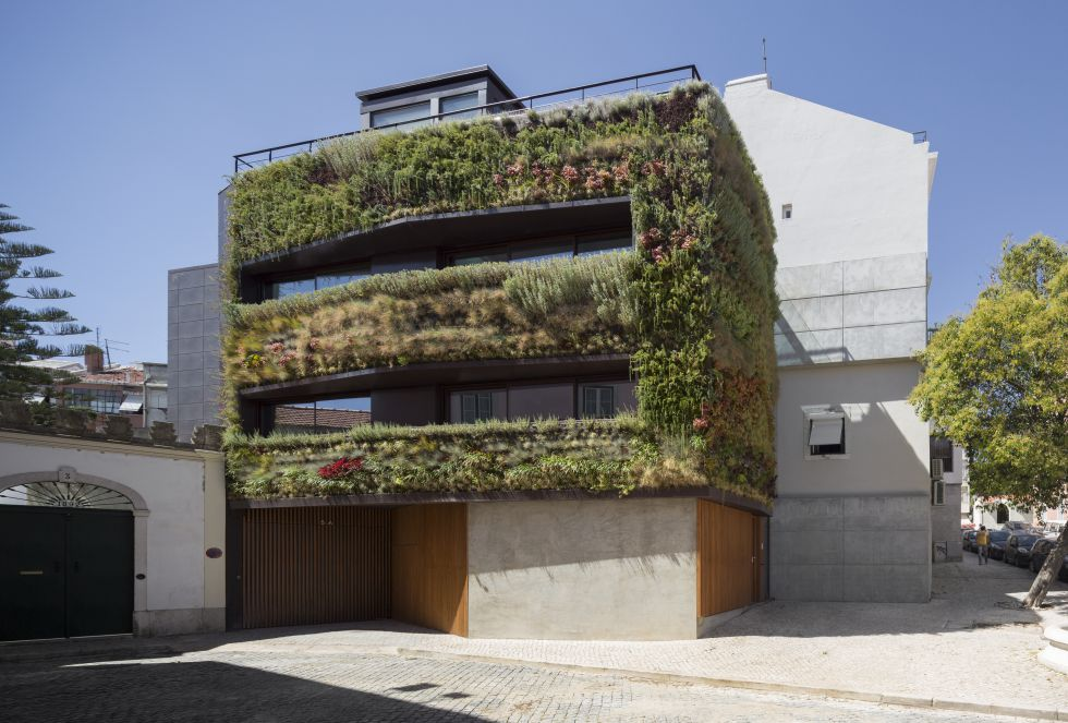 Casas de lujo ideas para un jard n vertical zona for Inmobiliaria jardines