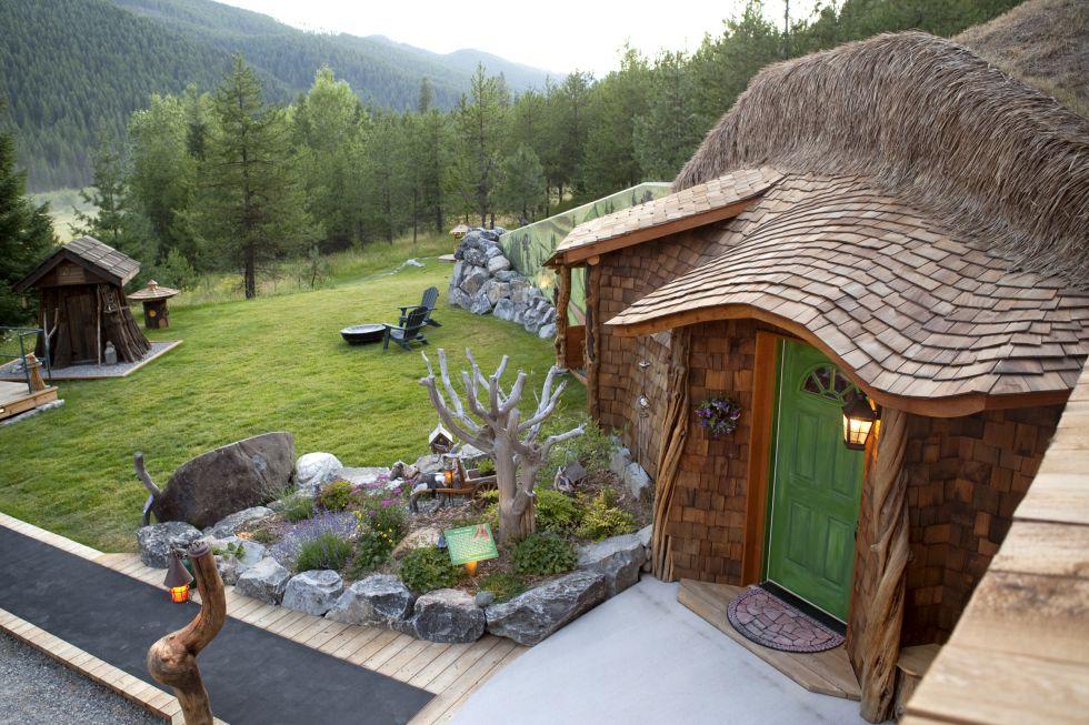 Vivir como un aut ntico hobbit taringa for Casas de madera para jardin ofertas
