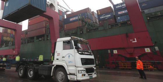 China dispara sus importaciones un 10%, el mayor ritmo desde julio