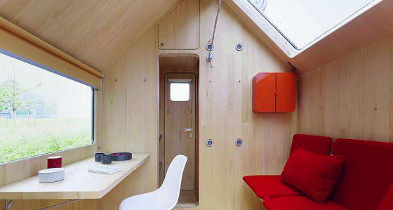 40 m2 de felicidad vivienda el pa s for Minimalist house trailer