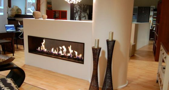 Chimeneas que calientan y decoran vivienda el pa s for Chimenea de gas en un piso
