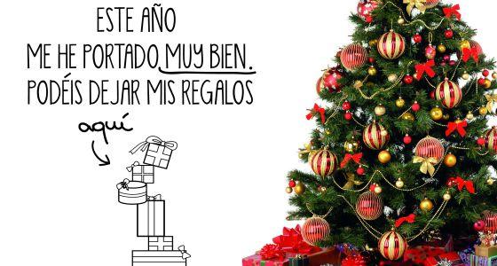Los vinilos con rboles navide os y belenes compiten con - Decorar fotos de navidad gratis ...