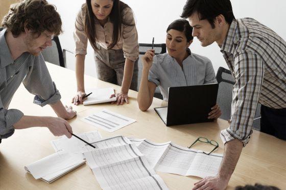 Resultado de imagen para trabajo en equipo en una empresa