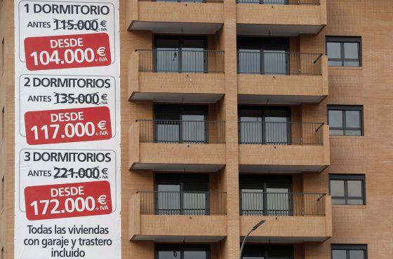 El precio de la vivienda sube un 1 8 en 2014 tras seis - Valor de una casa ...