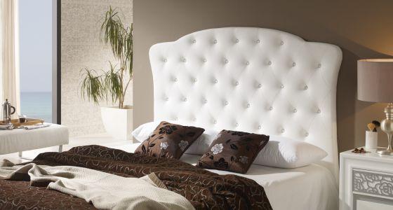 Cabeceros que conquistan las camas vivienda el pa s - Cabezal de cama tapizado ...