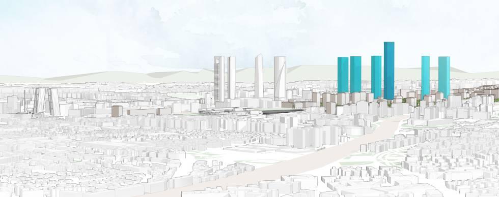 Madrid quiere redibujar su skyline econom a el pa s - Diva futura su sky ...