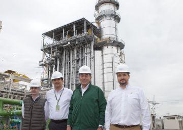 Iberdrola abre una planta de ciclo combinado en el norte de México