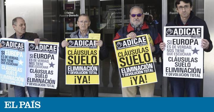El gobierno disuadir las demandas masivas en la futura for Gobierno clausula suelo
