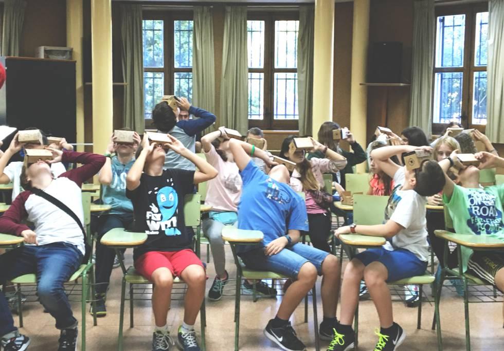 Las ventajas de usar gafas de realidad virtual en el aula