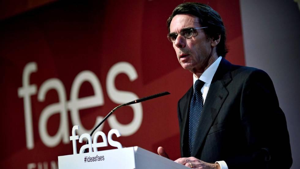 El expresidente Aznar propone retrasar la edad de jubilación a los 70 años