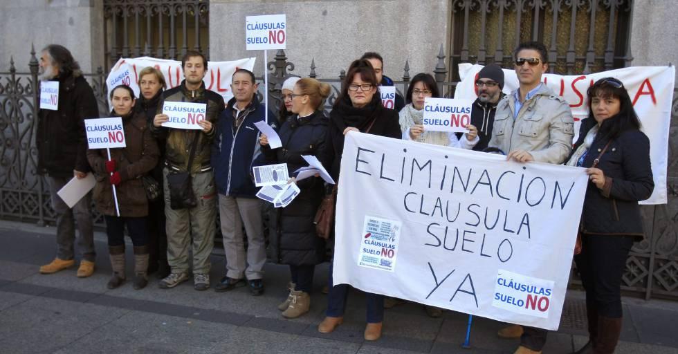 Facua denuncia a 13 entidades ante el Banco de España por las reclamaciones de cláusula suelo
