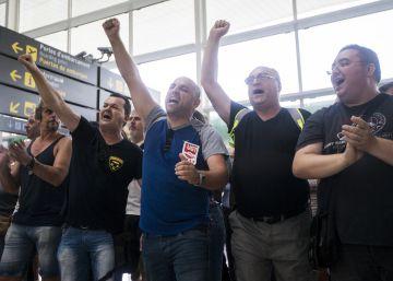 La huelga de seguridad de El Prat no se extiende al resto de aeropuertos