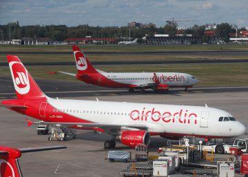 Air Berlin cancela decenas de vuelos tras declararse enfermos muchos pilotos