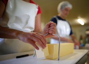 Francia tiembla ante la crisis de la mantequilla