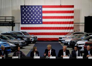 Trump amenaza con un arancel de hasta el 25% sobre la importación de automóviles
