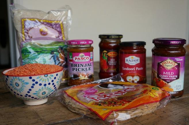 Despensa para novatos algunos ingredientes b sicos para - Productos de la india ...