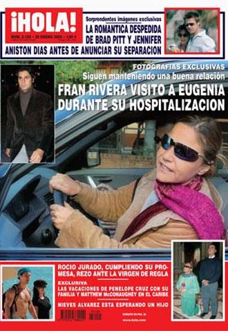 Portada de esta semana de la revista 39 hola 39 actualidad for Revistas de espectaculos de esta semana