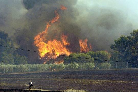 Fuego en Garrigoles