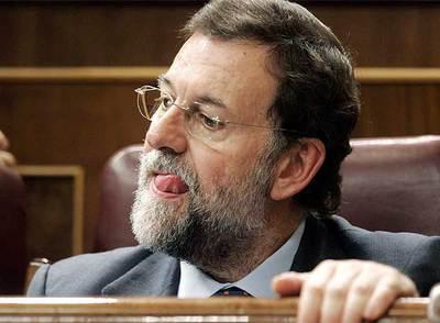 Mariano Rajoy, durante su intervención en el pleno extraordinario del Congreso- REUTERS
