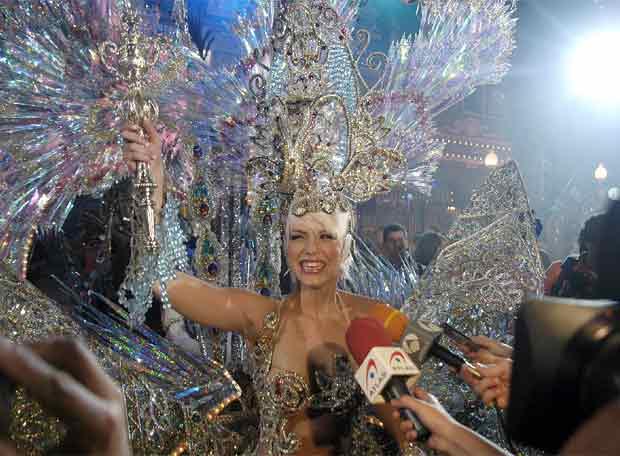 Silvana Medina tras ser elegida reina