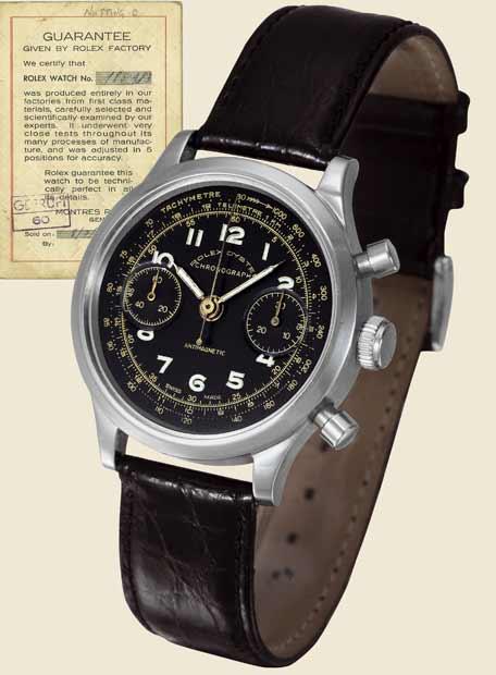 El reloj Rolex subastado