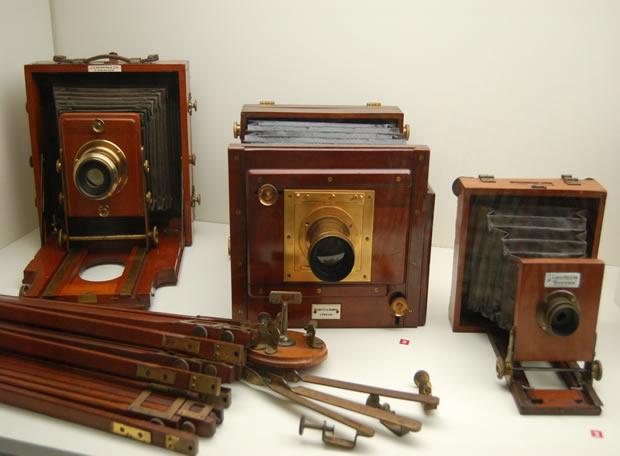 Las camaras fotograficas Antiguas y Modernas