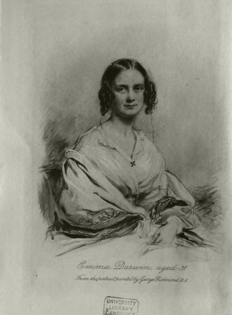 Charles Darwin en la red - Su mujer, Emma Darwin