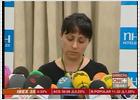 Comparecencia de la viuda del guardia civil asesinado