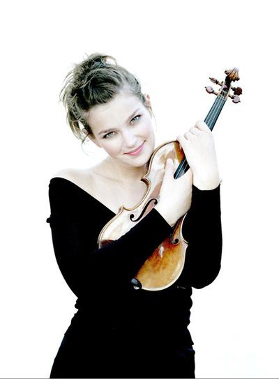 La violinista Janine Jansen actúa en Málaga