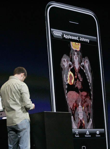 Jobs presenta el iPhone 3G - Medicina en el iPhone