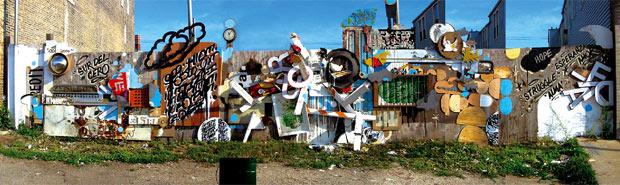 El arte en la calle - Mural