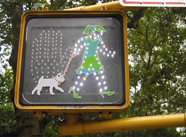 El arte en la calle - Dogwalker