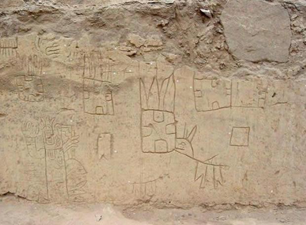 Un complejo monumental de 5.500 años - 130 dibujos de animales